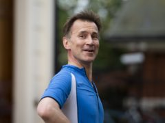 Jeremy Hunt's name has been the subject of a series of gaffes (David Mirzoeff/PA)