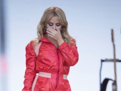 Kylie Minogue (Aaron Chown/PA)