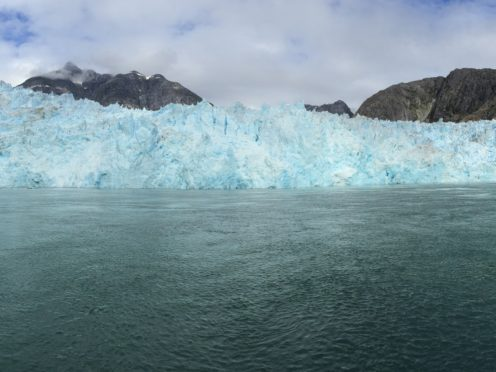 LeConte Glacier was studied by the researchers (Dave Sutherland, University of Oregan/PA)