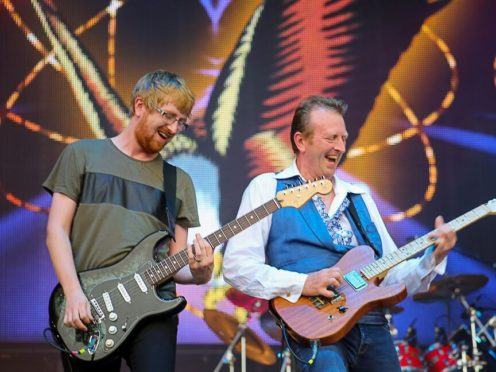 Big Country were among the performers at Rewind Scotland in Perth (Rewind/PA)