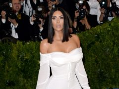 Kim Kardashian West has been victorious in her legal battle with a so-called 'fast fashion' retailer (Aurore Marechal/PA)
