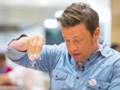 Jamie Oliver has opened up about the collapse of his restaurant chain (Dominic Lipinski/PA)