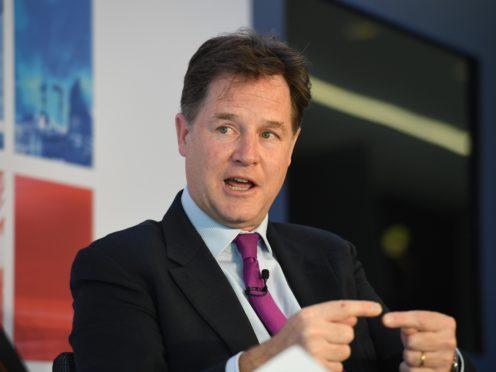 Sir Nick Clegg (Stefan Rousseau/PA)