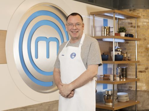 Adam Woodyatt, one of the contestants in this year's Celebrity MasterChef (BBC/PA)