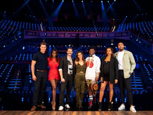 The cast for the second series of The Greatest Dancer (BBC/PA)