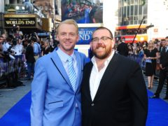 Simon Pegg and Nick Frost's new horror comedy series is coming to Amazon Prime (Ian West/PA)