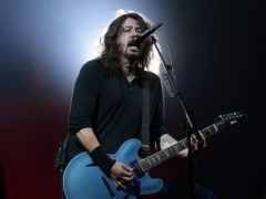 Foo Fighters frontman Dave Grohl, who was spotted with a bottle of Buckfast (Yui Mok/PA)