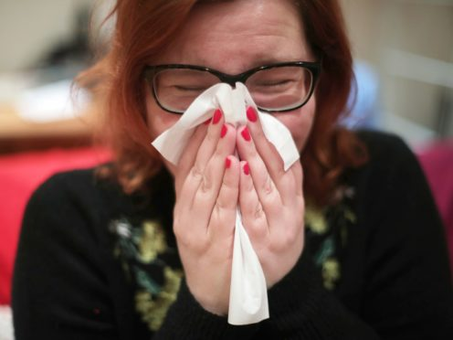 Experts at University Hospital Southampton say the discovery could lead to the creation of treatments that could prevent long-term nasal pain (Yui Mok/PA)
