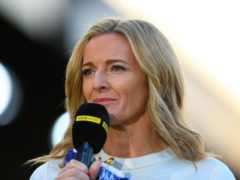 Gabby Logan will host Back Of The Net (Mike Egerton/PA)