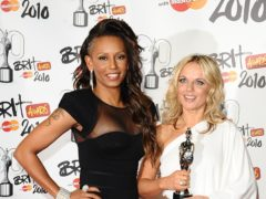 Melanie Brown and Geri Horner (Ian West/PA)