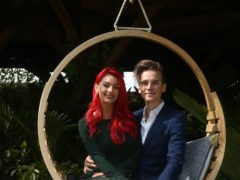 Joe Sugg and Dianne Buswell will live together. (Yui Mok/PA)