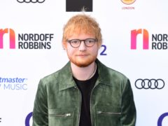 Ed Sheeran failed his music college course before going on to global stardom (Ian West/PA)