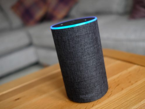 Alexa, the virtual assistant of Amazon's Echo device, has fallen in popularity as a girls' name (Andrew Matthews/PA)