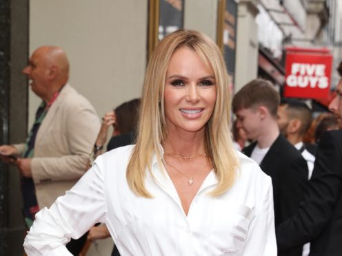 Amanda Holden has warned fans of a scam involving her name (Isabel Infantes/PA)