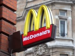 A trial in branches of McDonald's found that changing the position of items on a menu could 'trick' people into choosing healthier options (Yui Mok/PA)
