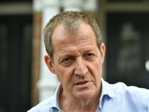 Alastair Campbell, the director of communications during Tony Blair's time as prime minister (Dominic Lipinski/PA)