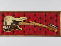 Paul Simonon's broken bass guitar (The Clash archive/PA)