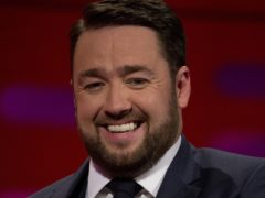 Jason Manford shared his gratitude (Isabel Infantes/PA)