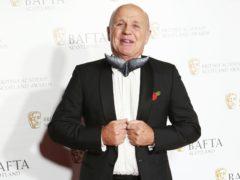 Doug Allan arriving for the British Academy Scottish Awards (Jane Barlow/PA)