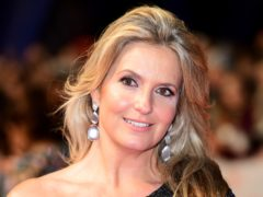 Penny Lancaster thinks about being left alone. (Ian West/PA)