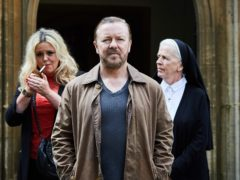 Ricky Gervais in After Life, which will return next year (Netflix)