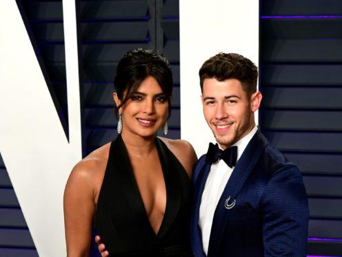 Priyanka Chopra and Nick Jonas (Ian West/PA)