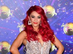 Dianne Buswell arriving at the red carpet launch of Strictly Come Dancing 2019 (Ian West/PA)