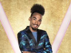 Dev Griffin, one of the contestants in BBC1's Strictly Come Dancing.(Ray Burmiston/BBC)
