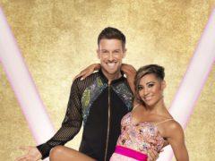 Chris Ramsey with his dance partner Karen Hauer (Ray Burmiston/BBC)