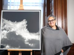 British artist Tacita Dean has been awarded with the Robson Orr TenTen Award 2019 (Matt Alexander/PA)