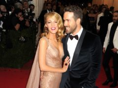 Blake Lively wished husband Ryan Reynolds a happy 43rd birthday with an hilarious post on Instagram (Dennis Van Tine/PA)