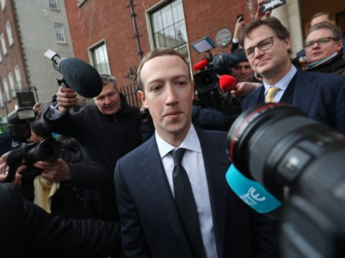 Mark Zuckerberg suggested that his company and other platforms would challenge Europe's top court (PA)