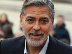 George Clooney addressed a business seminar in Finland's capital (Andrew Milligan/PA)
