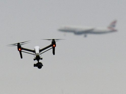 The House of Commons Science and Technology Committee has been looking into the rise of drones (John Stillwell/PA)