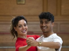 Strictly Come Dancing contestant Karim Zeroual and his professional dance partner Amy Dowden (Victoria Jones/PA)