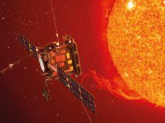Artist's impression of the solar lab (ESA/ATG medialab/PA)