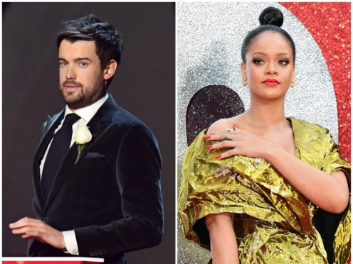 Jack Whitehall has spoken about his awkward meeting with Rihanna (PA)