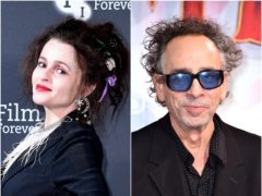 Helena Bonham Carter and Tim Burton (Ian West/Matt Crossick/PA)