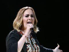 Adele urged people to vote (Yui Mok/PA)