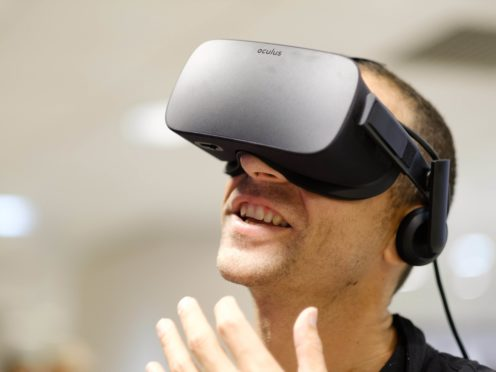 Virtual reality could help chronic pain patients, researchers have said (Frantzesco Kangaris/PA)