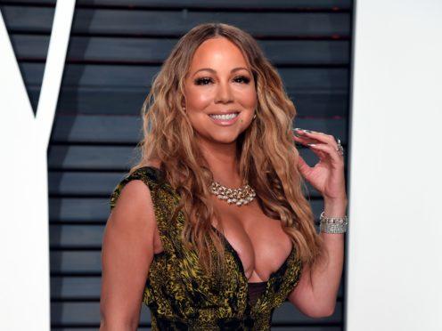 Mariah Carey has kicked off the festive season in a fun video (PA)