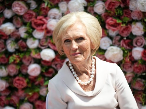 Mary Berry's choices did not please her parents (Matt Alexander/PA)