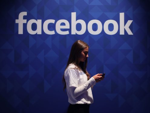 Facebook has been accused of using 'selective big numbers' to promote its latest transparency report (Niall Carson/PA)