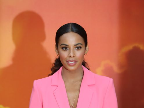 Rochelle Humes tries to cry before the show (Jonathan Brady/PA)