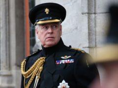 The Duke of York (Jonathan Brady/PA)