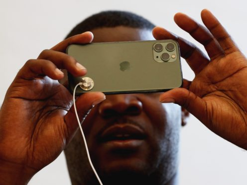 Apple did well at the awards (Jonathan Brady/PA)