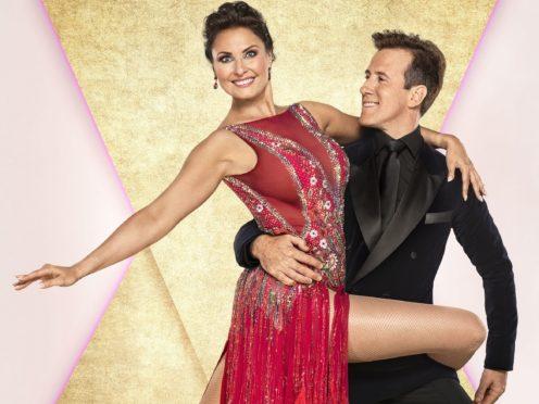 Emma Barton with her dance partner Anton Du Beke (Ray Burmiston/BBC/PA)