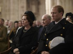 Olivia Colman as Queen Elizabeth II and Tobias Menzies as the Duke of Edinburgh, appearing in the third season of The Crown (Des Willie/Netflix)