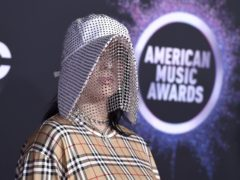 Teenager Billie Eilish kicked off the American Music Awards by picking up the first award of the night (Jordan Strauss/Invision/AP)