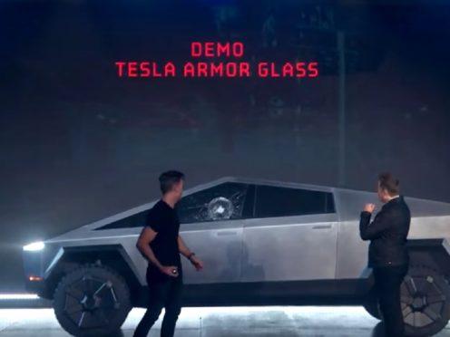 (Tesla/PA)